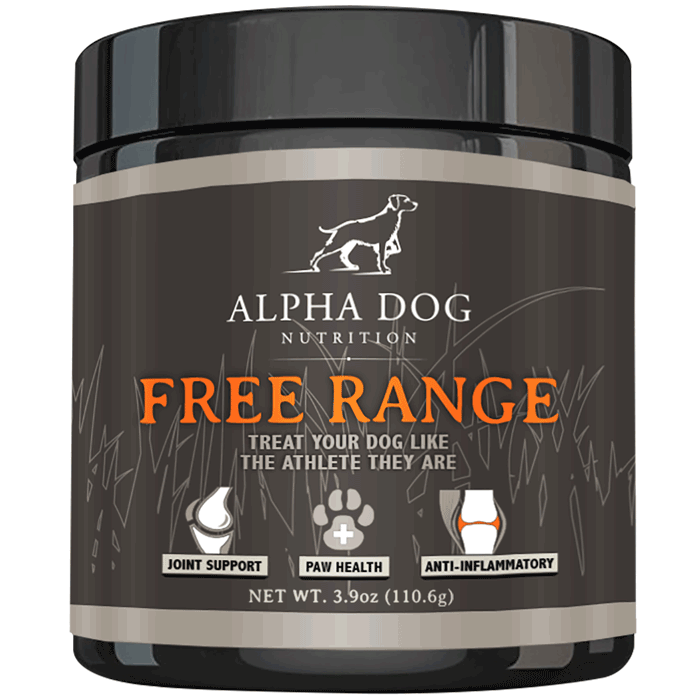 Free Range Joint Supplement | Glucosamine, Chondroitin, & MSM for Dogs