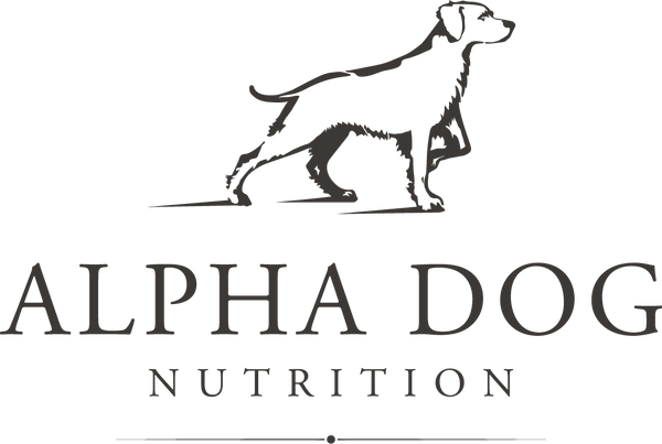 Alpha Dog Nutrition Window Decal