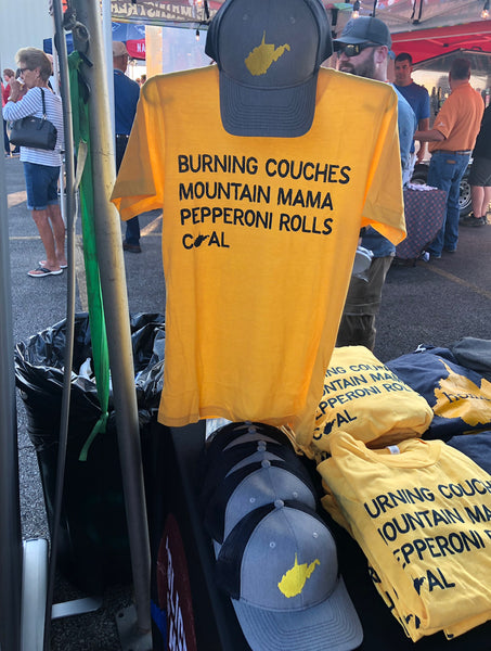 Burning Couches Tee