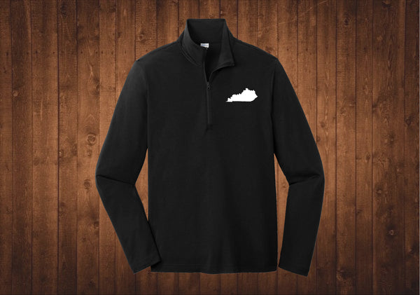 1/4 Zip - Kentucky Black