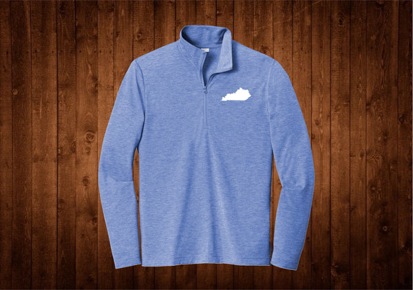 1/4 Zip - Kentucky Blue