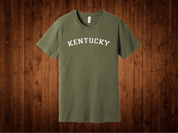 Olive Green Kentucky Tee