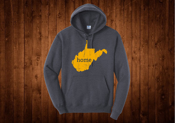 West Virginia Gold Home Hoodie