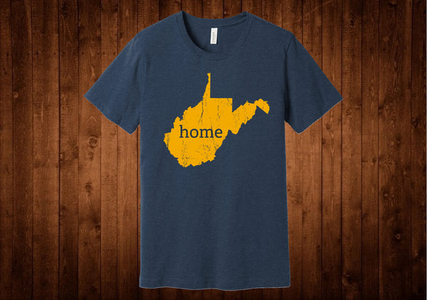 West Virginia Gold Home Tee