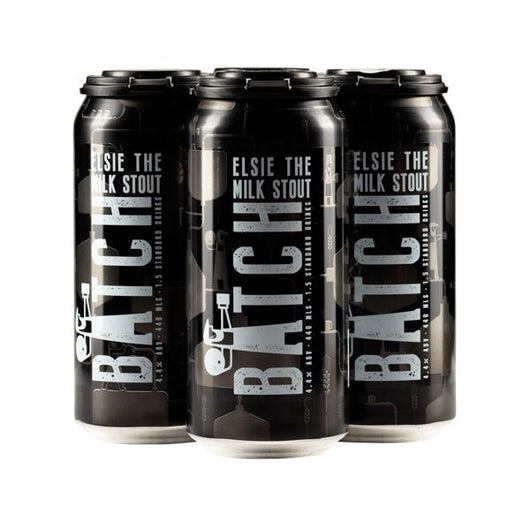Batch 'Elsie the Milk Stout' Can 4x440ml 4.4%