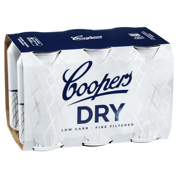 Coopers Dry Cans