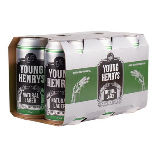 Young Henry's Natural Lager Cans CTN