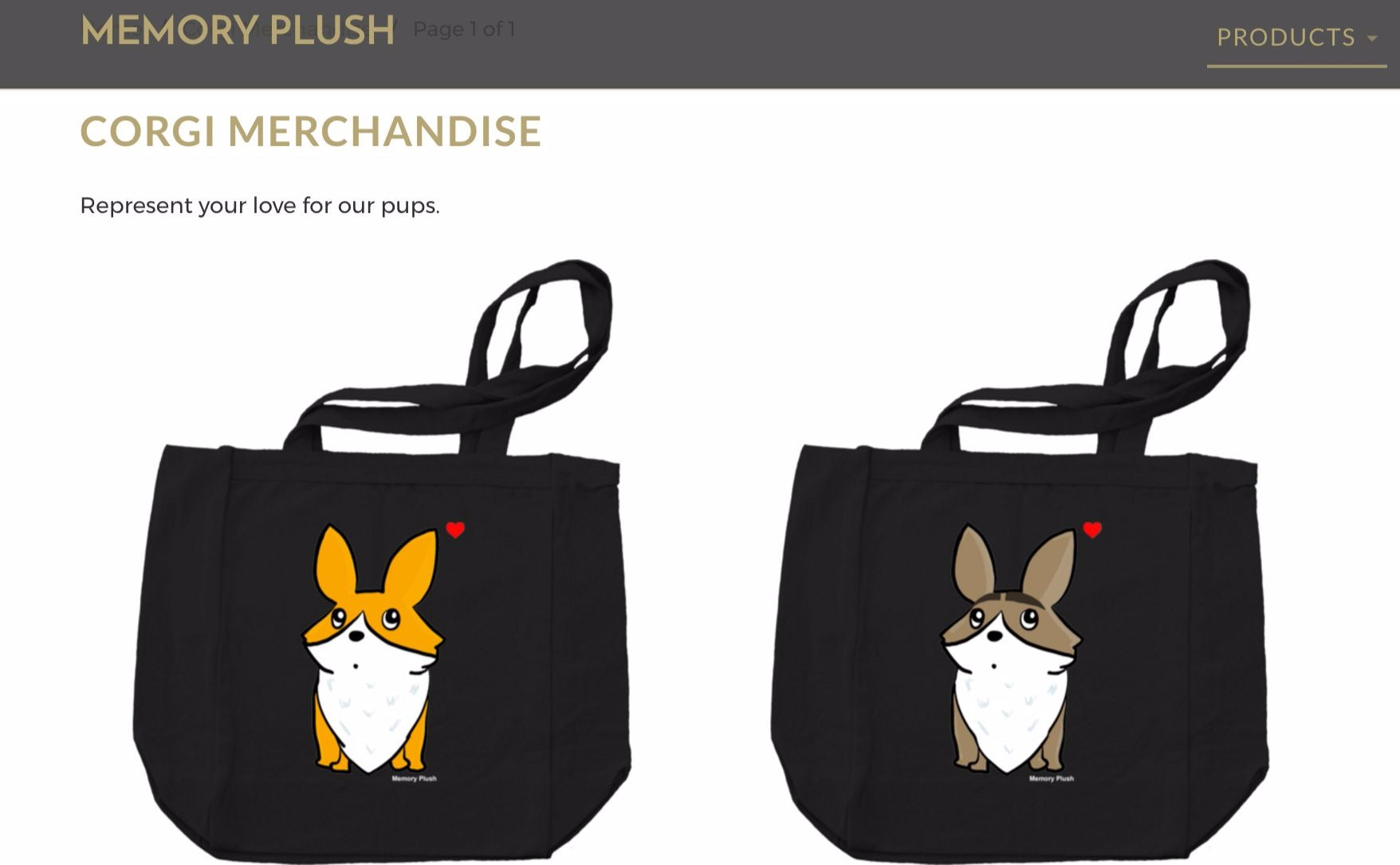 Website Makeover and New Corgi Merchandise