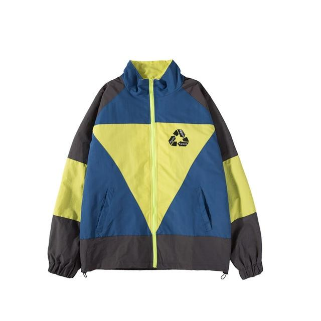 "Club Giv ""Reincarnation"" Vintage Windbreaker Jacket - Multiple Colors"