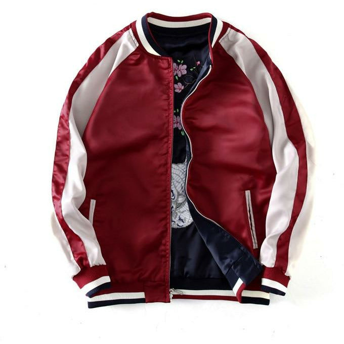 "Club Giv ""Nine Tails"" Reversible Souvenir Jacket"