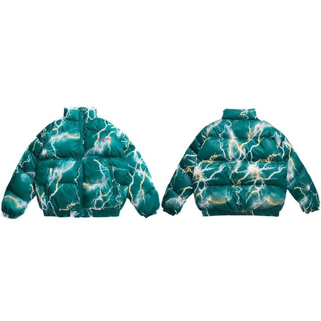 "Club Giv ""Electro"" Puffer Winter Jacket - Multiple Colors"