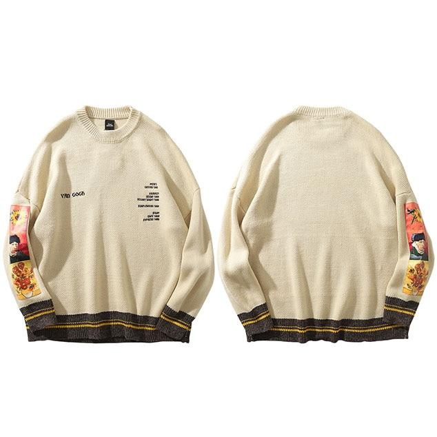 "Club Giv ""Van Gogh"" Pullover Sweater"