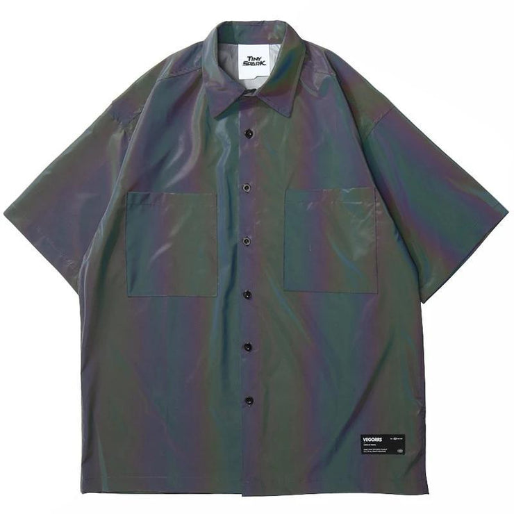 "Club Giv ""Aurora"" Reflective Work Shirt"