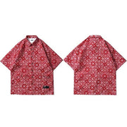 "Club Giv ""Paisley"" Summer Shirt - Multiple Colors"