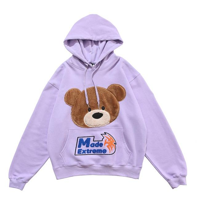 "Club Giv ""Teddy"" Soft Cotton Hoodie - Multiple Colors"