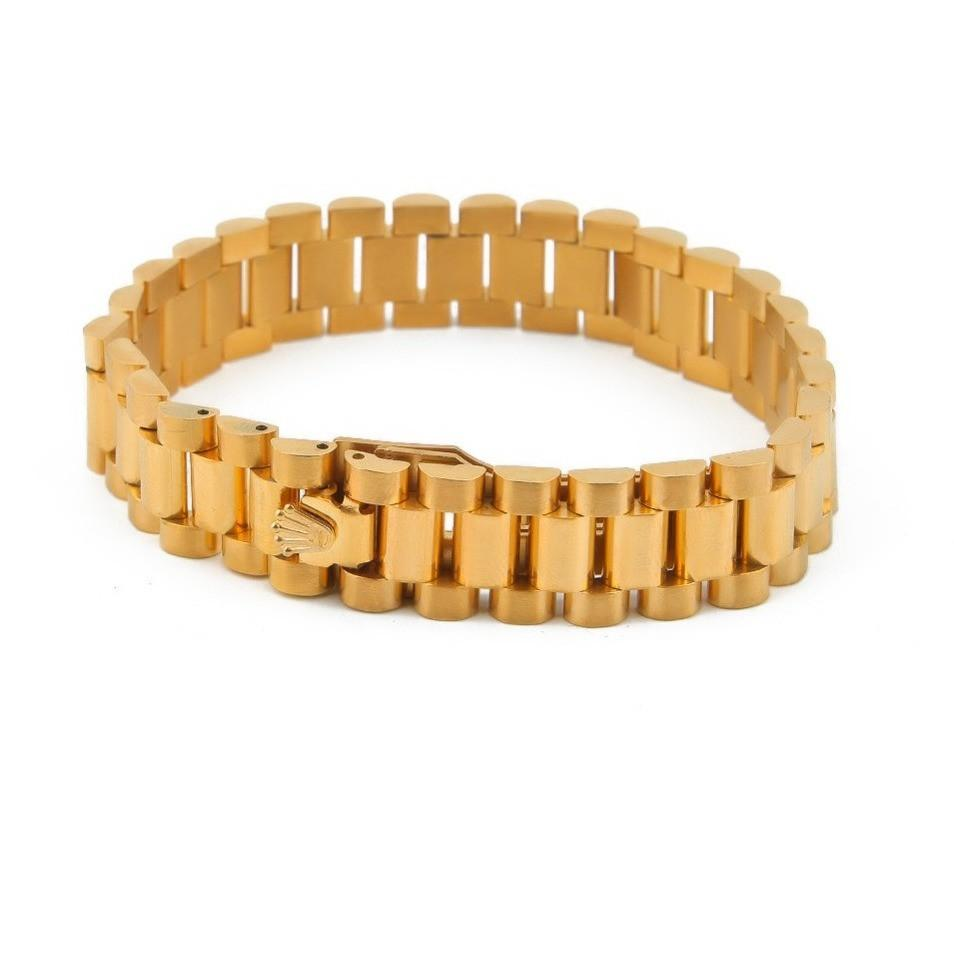 bracelet from crude com shuangkou product goldmerchant gold tablet dhgate brass whip color men domineering wholesale