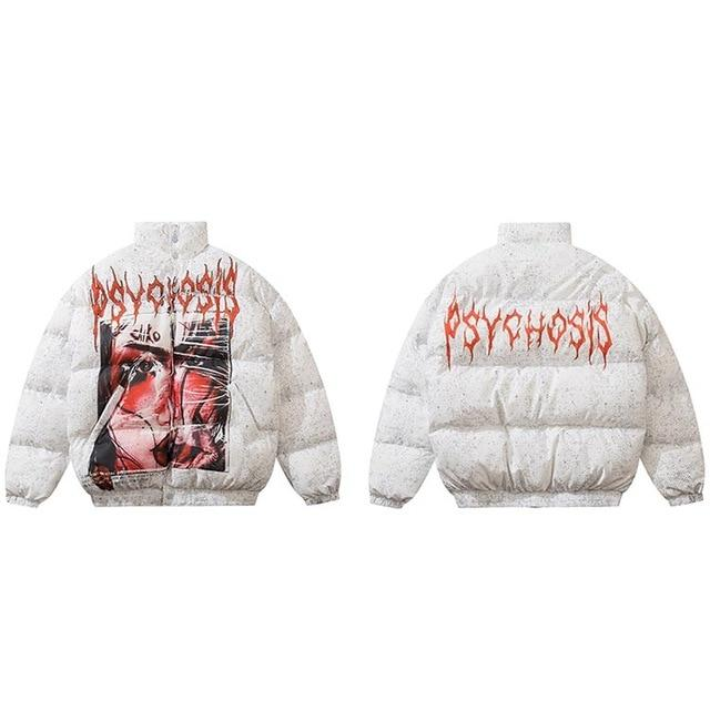 "Club Giv ""Psychosis"" Puffer Winter Jacket - Multiple Colors"