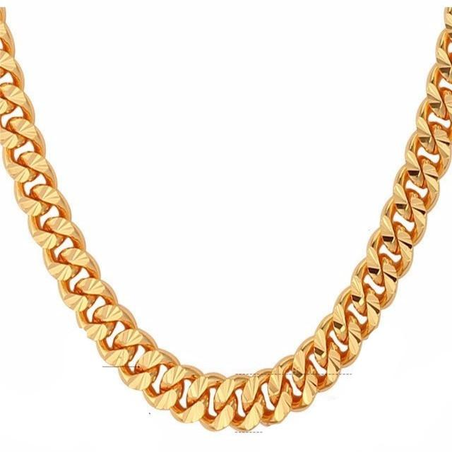 Club Giv 18k Cuban Link Chain