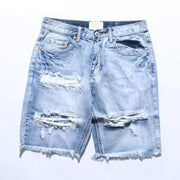 "Club Giv ""Destroyer"" Denim Shorts"