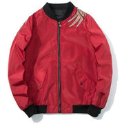 "Club Giv ""Rising Phoenix"" Bomber Jacket"