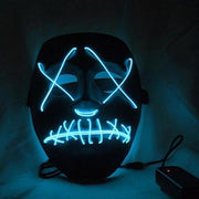 "Club Giv ""X"" LED Mask"
