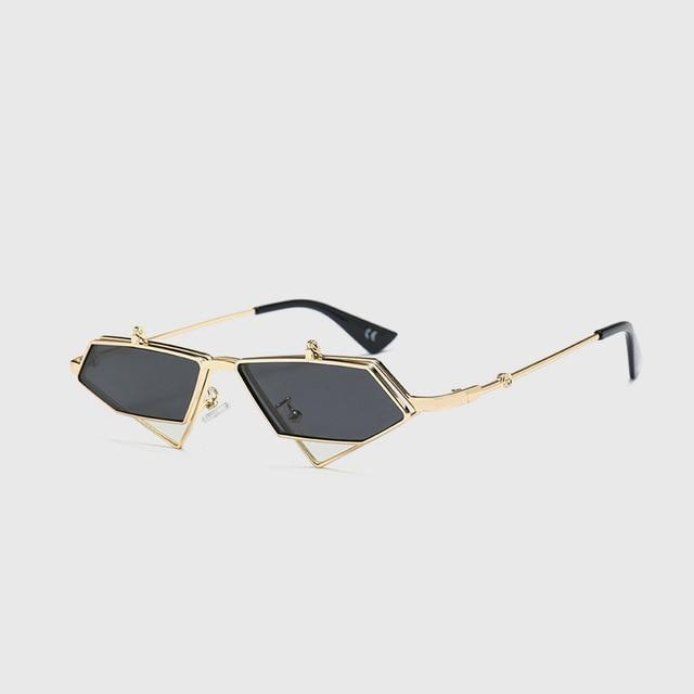 "Club Giv ""Seeker"" Flip-Lens Sunglasses"
