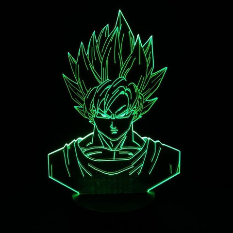 """Anime Series"" Color Changable 3D Lamp"