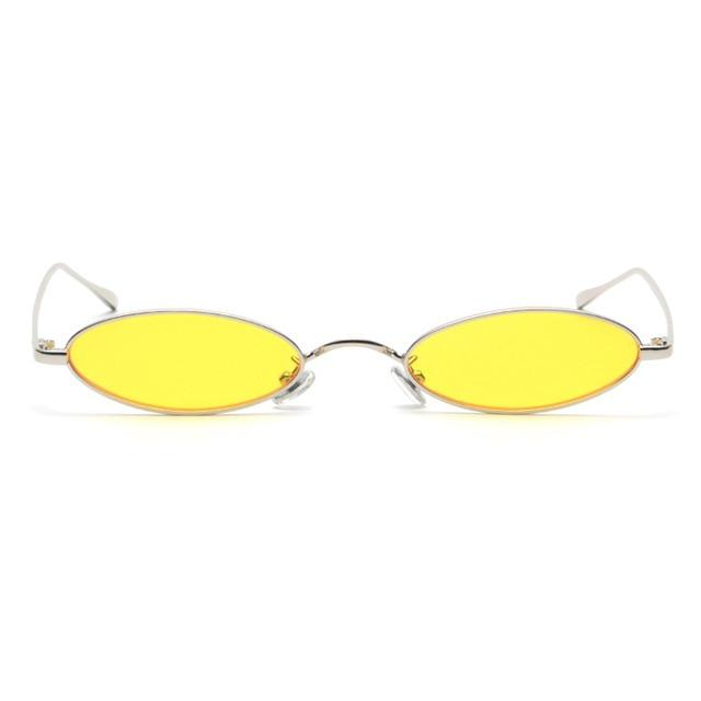 "Club Giv ""Milano"" Oval Rim Sunglasses"