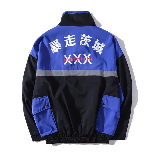 "Club Giv ""Tamashi"" 3M Reflective Windbreaker Jacket"