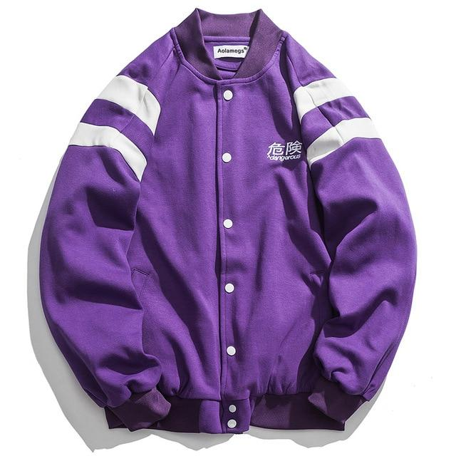 "Club Giv ""Dangerous"" Varsity Jacket - Multiple Colors"