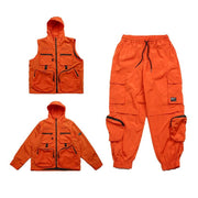 "Club Giv ""G1"" Detachable Tactical Track Suit - Multiple Colors"
