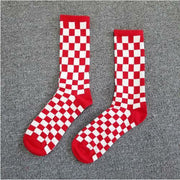 "Club Giv ""Micro Check"" Socks"