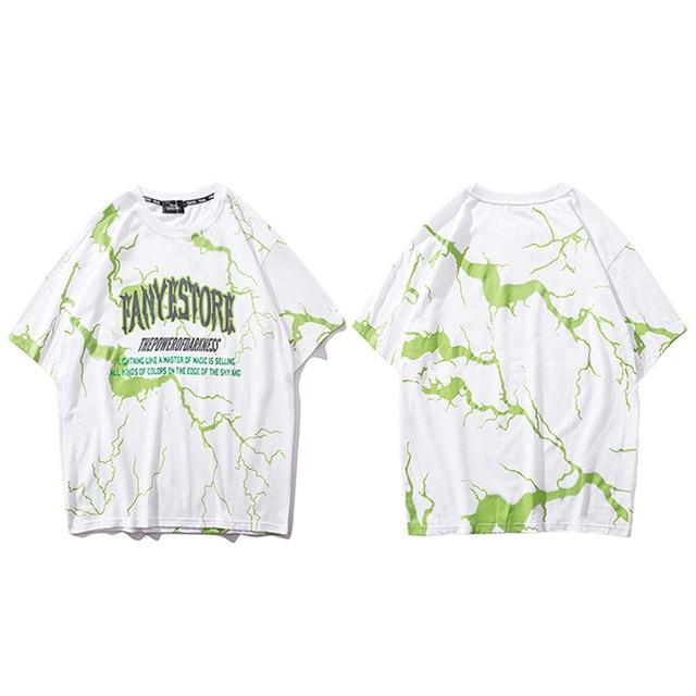 "Club Giv ""Electric Storm"" Tee"