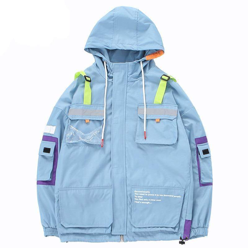 "Club Giv ""Gravity"" Utility Windbreaker Jacket"