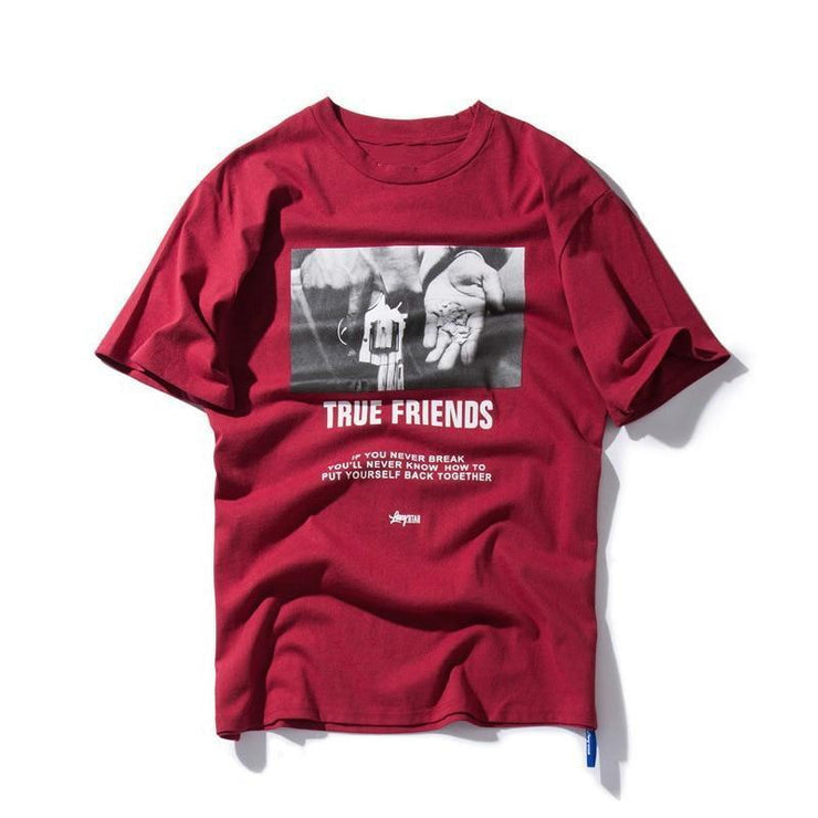 "Club Giv ""True Friends"" Tee - Multiple Colors"