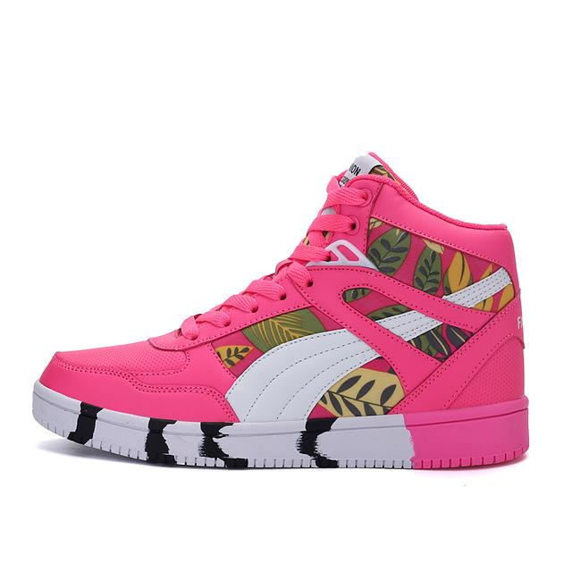 "Club Giv ""Rosa"" High Top Athletic Trainers"
