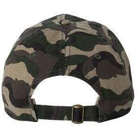 """SAVAGE"" UNSTRUCTURED BASEBALL DAD CAP - CAMO"