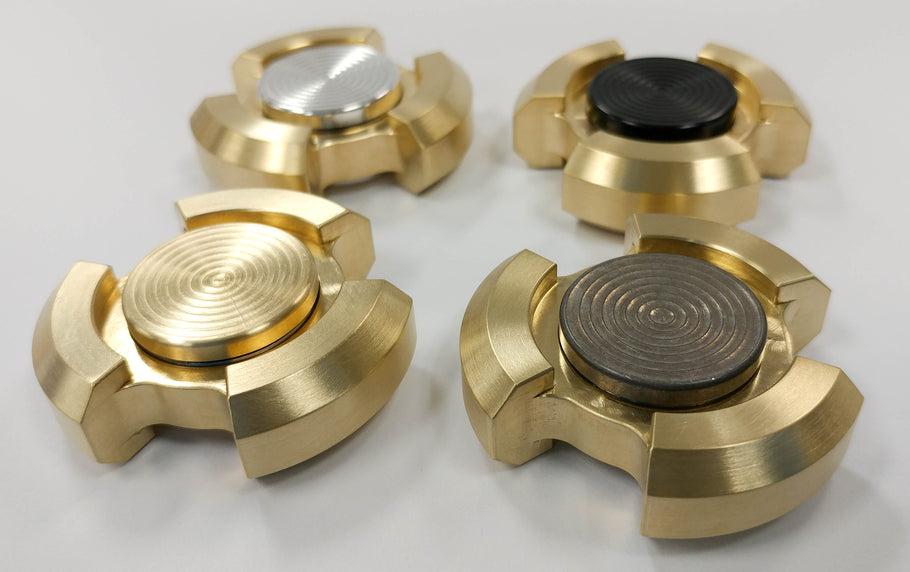 Released Today: The Triple Mini Fidget Spinner