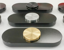 Black Fidget Spinner, Anodized Aluminum - Made in USA
