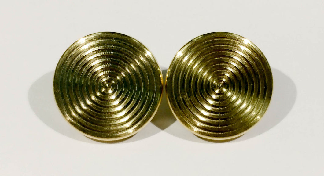 Brass Fidget Spinner Bearing Cap, 1 Set