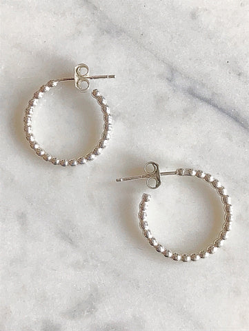 Alena Hoop Earrings- Small