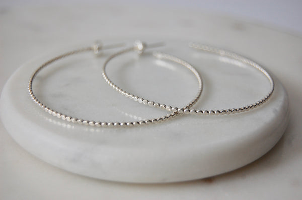 Alena Hoop Earrings