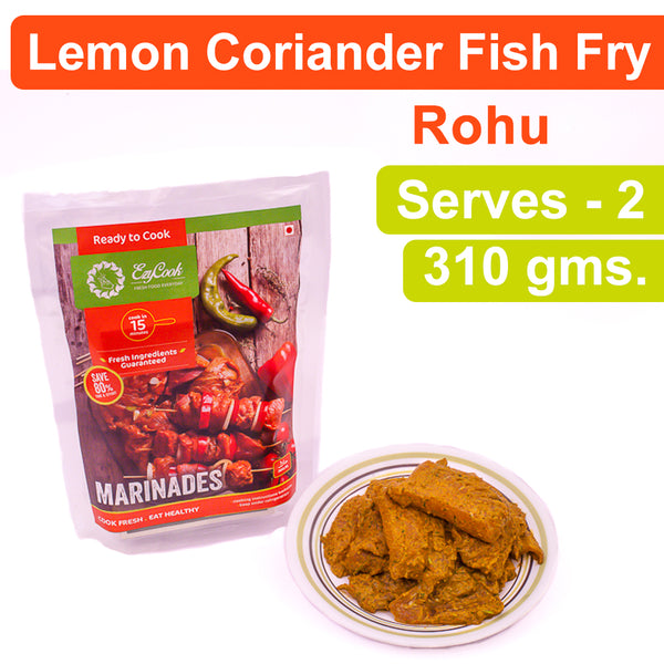 Lemon Coriander Fish Fry