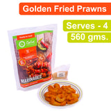 Golden Fried Prawns