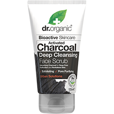 DR ORGANIC Face Scrub  Activated Charcoal 125ml