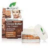 DR ORGANIC  Organic Cocoa Butter Day Cream 50ml