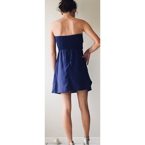 Reverse Blue Mini Dress