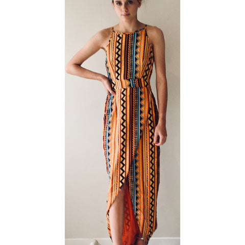 JY Aztec Maxi Dress