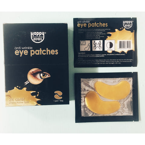 Anti-Wrinkle Gold Eye Patches