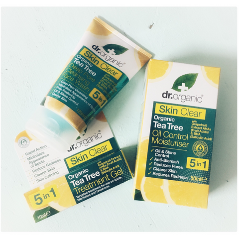 Dr Organic Clear Skin Spot Treatment Pack